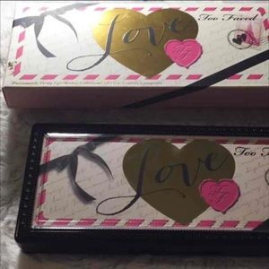 Authentic Too Faced Love Palette